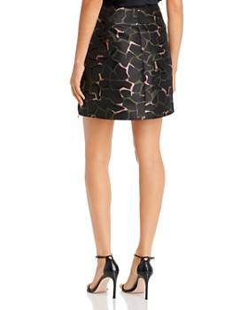 Armani - Printed A-Line Mini Wrap Skirt