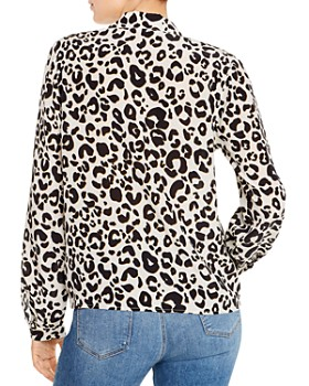 Anine Bing - Lilah Silk Leopard-Print Blouse