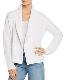 Eileen Fisher Petites - Organic Cotton Shawl-Collar Cardigan