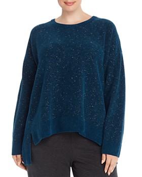 Eileen Fisher Plus - Organic Cotton Boxy Sweater