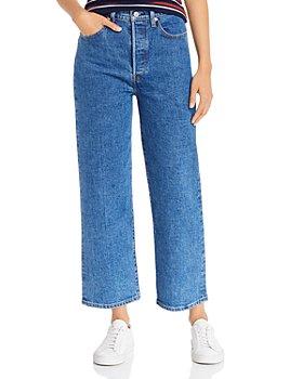 Levi's - Rib Cage Straight-Leg Jeans in Georgie