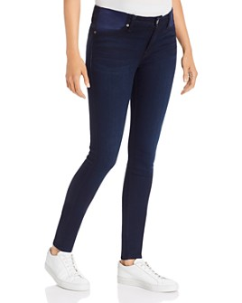 7 For All Mankind - Skinny Maternity Jeans in Dark Blue