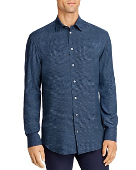 Armani - Geo Print Regular Fit Sport Shirt