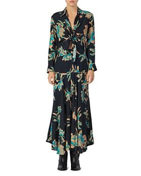 Sandro - Blaire Floral Maxi Dress