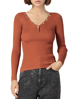 Sandro - Justy Henley Top