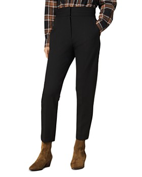 Sandro - Nalla Tapered Ankle-Length Pants