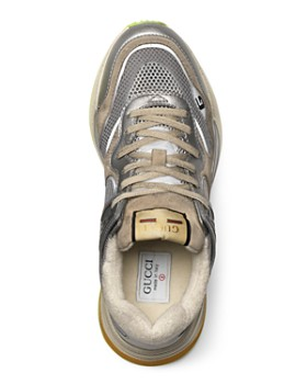 Gucci - Men's Ultrapace Retro Mixed-Media Low-Top Sneakers