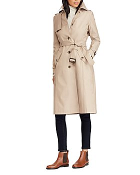 Ralph Lauren - Hooded Trench Coat
