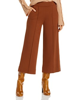 Brochu Walker - Rhodes Wide-Leg Cropped Pants