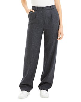 Theory - Wool Blend Pleated Pants - 100% Exclusive