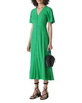 Whistles - Micro Dot Button-Down Dress