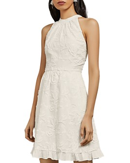 Ted Baker - Lorene High-Neck Floral Embroidered Dress