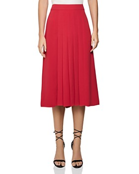 REISS - Cleona Box Pleat Skirt