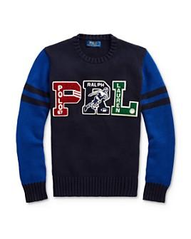 Ralph Lauren - Boys' Letterman Sweater - Big Kid