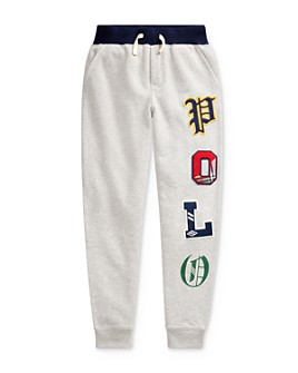 Ralph Lauren - Boys' Graphic Fleece Jogger Pants - Big Kid
