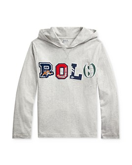 Ralph Lauren - Boys' Polo Hooded Tee - Big Kid