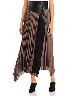 RECTO. by W CONCEPT - Pleated Skirt