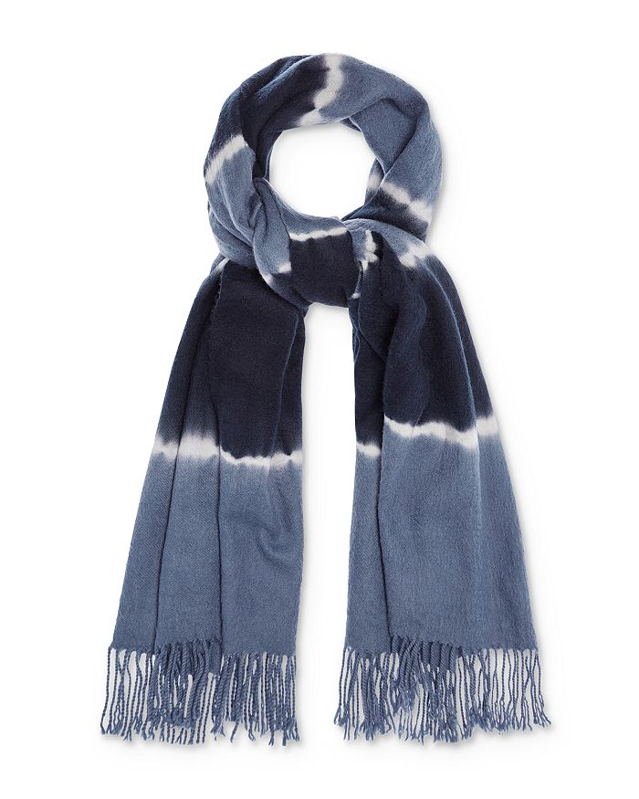 Charlotte Simone BETTY TIE-DYE WOOL SCARF