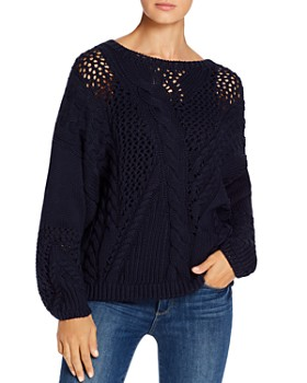 525 America - Mixed Cable Stitch Sweater