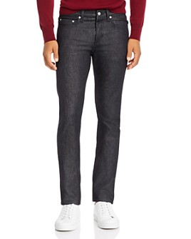 Sandro - Raw Slim Fit Jeans in Black - 100% Exclusive
