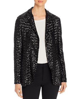 Fabiana Filippi - Sequined Single-Button Blazer
