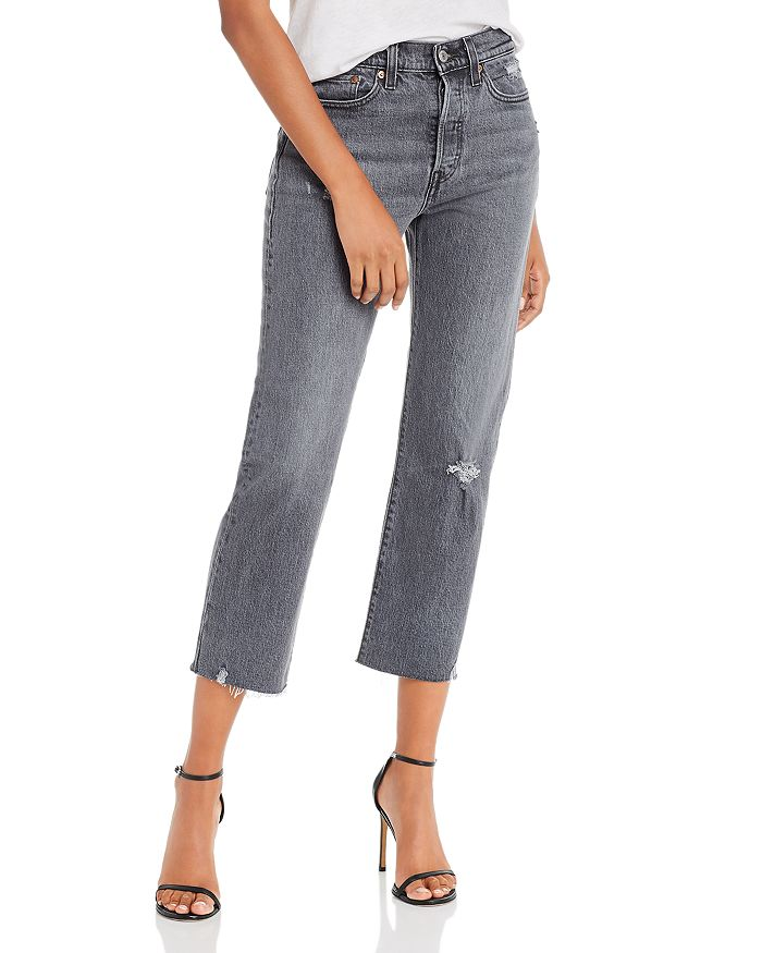Levi's - Wedgie Straight Jeans in Cabo Smoke