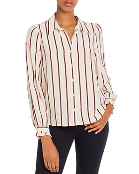 Levi's - Marcey Striped Button Top