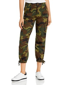 Alice and Olivia - Camo Cargo Pants