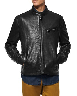 Andrew Marc - Cumberland Leather Moto Jacket