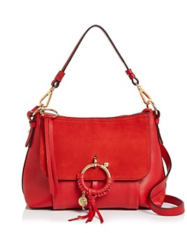 See by Chloé - Joan Small Leather & Suede Shoulder Bag