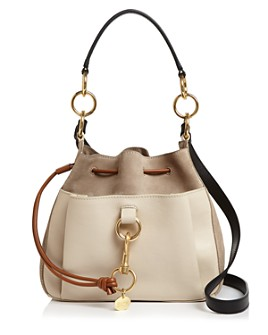 See by Chloé - Tony Leather & Suede Shoulder Bag