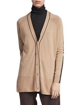 ATM Anthony Thomas Melillo - Silk-Blend Color-Blocked Cardigan