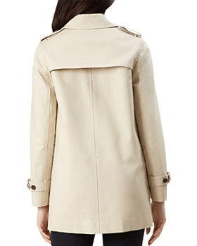 HOBBS LONDON - Chrissie Single-Breasted Trench Coat