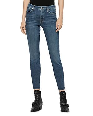 Allsaints Grace Skinny Jeans in Vintage Indigo Blue