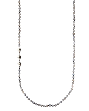 Special Stones Necklace in Sterling Silver or 18K Gold-Plated Sterling Silver
