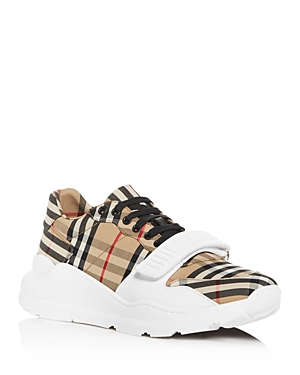 Burberry Men's Regis Low-Top Sneakers