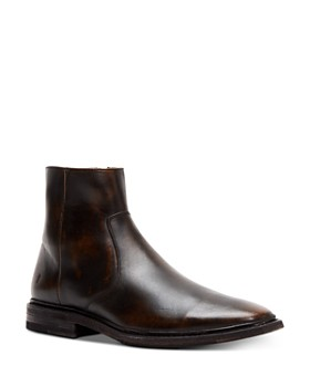 Frye - Men's Paul Leather Zip-Up Boots
