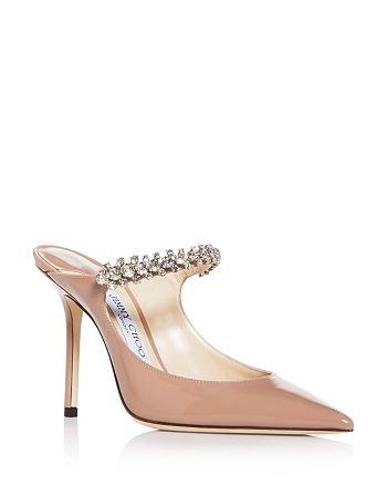 Jimmy Choo - Women's Bing 100 Embellished High-Heel Mules