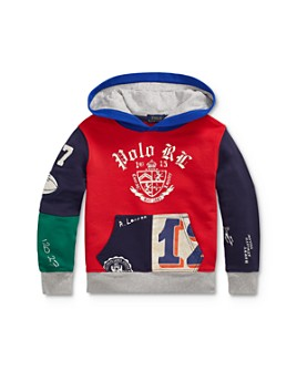 Ralph Lauren - Boys' Patchwork Hoodie - Little Kid