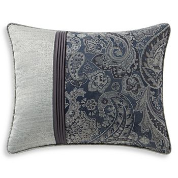 "Waterford - Danehill Pleated Decorative Pillow, 16"" x 20"""