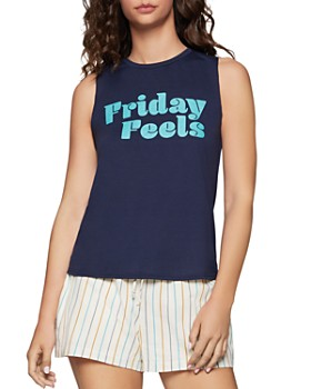 BCBGENERATION - Friday Feels Muscle Tank