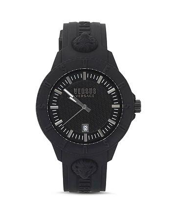 Versus Versace - Tokyo R Silicone Strap Watch, 43mm