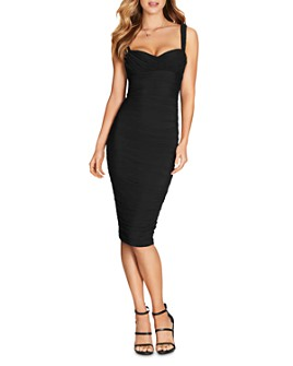 Nookie - Poison Ruched Midi Dress