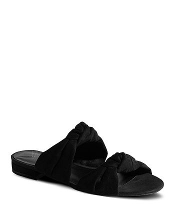 KAREN MILLEN - Women's Knotted Slide Sandals