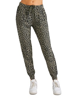 CHRLDR - Leopard Print Jogger Pants