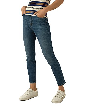 KAREN MILLEN - Ultimate Straight-Leg Jeans in Denim