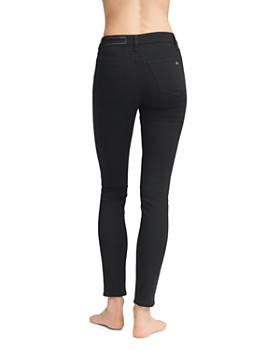 rag & bone - Nina High-Rise Skinny Jeans in No Fade Black