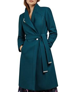 Ted Baker - Ellgenic Long Belted Coat