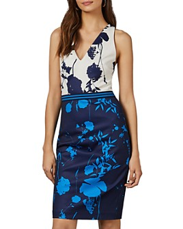 Ted Baker - Tilliai Bluebell Racerback Bodycon Dress