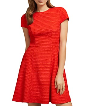 Ted Baker - Cherisa Textured Jersey Skater Dress